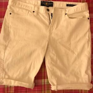 Lucky white jean shorts